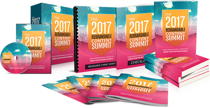 Your Live Virtual Summit Ticket: Turning Rebrandable Content Into An Awesome Brand